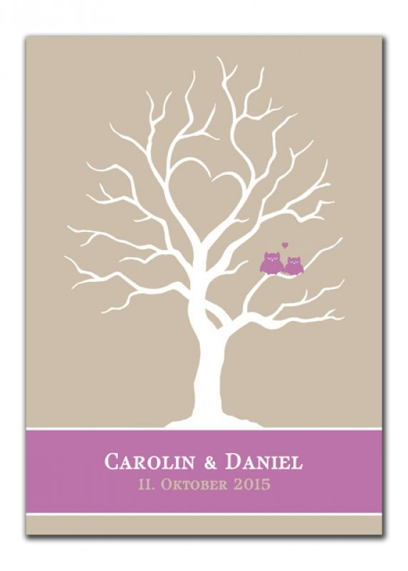 Wedding Tree Carolin Daniel pink